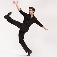 "Alejandro Diaz in James Kudelka's ""The Man in Black"" at Pittsburgh Ballet Theater"