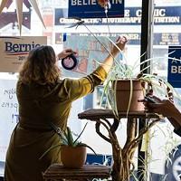 U.S. presidential candidate Bernie Sanders opens campaign office in Pittsburgh