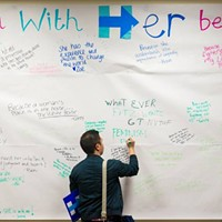 U.S. presidential candidate Hillary Clinton opens campaign office in Pittsburgh