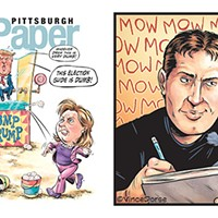 A conversation with this week's Pittsburgh City Paper cover illustrator Vince Dorse