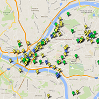Pittsburgh educator creates online map to track city's development