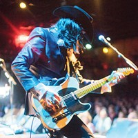 As guitarist of the Mavericks, Eddie Perez lives out his rock-god dreams in an unlikely forum