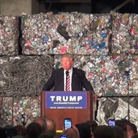 Presidential candidate Donald Trump focuses on trade in stump speech in Monessen