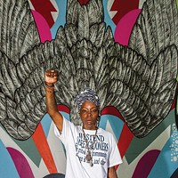 Hip-hop artist Blak Rapp Madusa brings her mix of art and activism to Ladyfest Pittsburgh