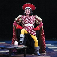 Benjamin Howes in Pittsburgh CLO's <i>Shrek The Musical</i>