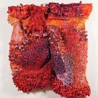 Pittsburgh Center for the Arts' half of Fiberart International is an expansive and often exciting show in itself