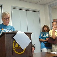 Cheswick power-plant employees and local residents testify at Allegheny County hearing