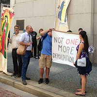 Prayer vigil held in Downtown Pittsburgh for undocumented immigrant Martin Esquivel-Hernandez