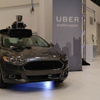 Pittsburgh City Paper's first-hand look at Uber's driverless cars