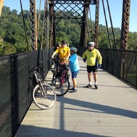 Allegheny County Executive Rich Fitzgerald bikes to Washington D.C.