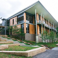 The new Frick Environmental Center, off Beechwood Avenue in Squirrel Hill