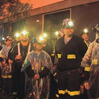 Coal miners in <i>Blood on the Mountain</i>