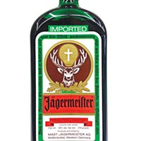 Jägermeister (and tonic)