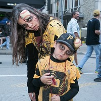 Zombies fill Federal Street for Pittsburgh Pirates Zombie Night at PNC Park