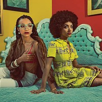 Esperanza Spalding, at left