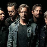 Switchfoot (Chad Butler, second from right)
