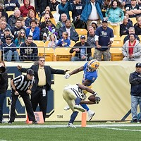 A photo essay of the University of Pittsburgh's 37-34 shootout win over  Georgia Tech