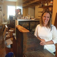 Danielle Spinola, owner of soon-to-be-opened Tupelo Honey Teas in Millvale