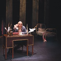 Jon Hayden in <i>Diary of a Madman </i>