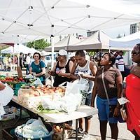 East Liberty Farmers Market, winner of Best Farmers Market