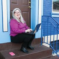 Sue Kerr, winner of Best Local Blogger