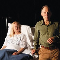 Amy Landis and Ken Bolden in <i>An Accident</i> at Off the Wall