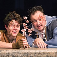 James Curry (left) and Eric Leslie in <i>A Midsummer Night's Dream</i> at Little Lake