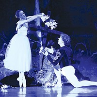 Alexandra Kochis and Christopher Budznyski in Pittsburgh Ballet Theatre's <i>Giselle</i>