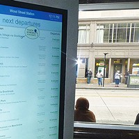 Port Authority has upgraded transit stops to give riders more information
