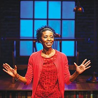 Speaking volumes: Sharon Washington in <i>Feeding the Dragon</i> at City Theatre