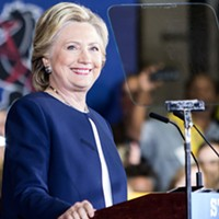 Hillary Clinton makes her final Pittsburgh campaign stop at Heinz Field