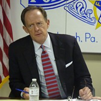 U.S. Senator Pat Toomey attacked by left and right in final week before election