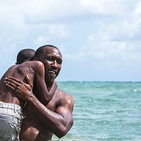 Afloat: Juan (Mahershala Ali) teaches Little (Alex R. Hibbert) to swim