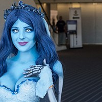 Morgan Paige as the Corpse Bride at the Wizard World Comic Con