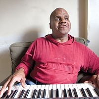 Bill Dorsey, a blind-street-corner blues singer and one of Pittsburgh's most distinctive voices, in 2007