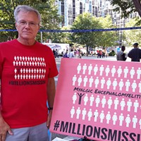 Gary Tillman at the Millions Missing rally in Pittsburgh