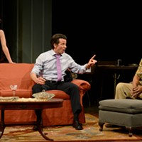 "Final performances of ""Between Riverside and Crazy"" at Pittsburgh Public Theater"