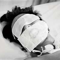 Lynn Johnson's 2005 photo of a victim of avian flu in Vietnam
