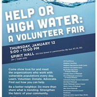 Volunteer Fair on Thursday night at Pittsburgh's Spirit