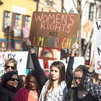 Two local female-led marches filled Pittsburgh streets this weekend