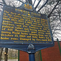 If you want to commemorate Pittsburgh sports milestones, a historical marker is the way to go