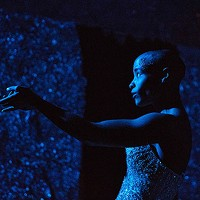 Jasmine Hearn in <i>blue, sable and burning </i>