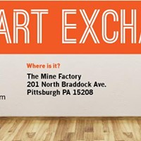 Pittsburgh's first Art Exchange this Sunday at the Mine Factory