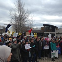 In response to Trump's immigration orders, more than 700 Pittsburghers protest between Jan. 28-29