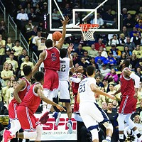 The Duquesne Dukes might have peaked too early by beating Pitt at the beginning of the season.
