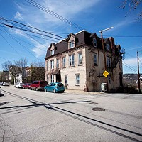 The building at 3447 Melwood Ave. in Polish Hill will likely be remolded into luxury apartments.