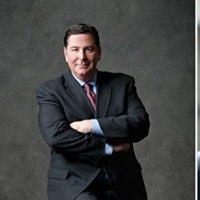 Darlene Harris (left), Bill Peduto (center), John Welch (right)