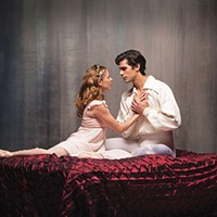 Alexandra Kochis and Alejandro Diaz in Pittsburgh Ballet Theatre's <i>Romeo & Juliet </i>