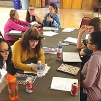 Writing it out: A Girls Write Pittsburgh quarterly workshop