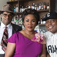 Top of the <i>Summer King </i>line-up (from left): Sean Panikkar, Denyce Graves and Alfred Walker